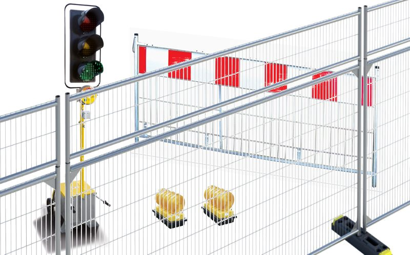 SAFETY SYSTEMS (PREVENTION, PROTECTION), FENCES, GATES, TRAFFIC BARRIERS